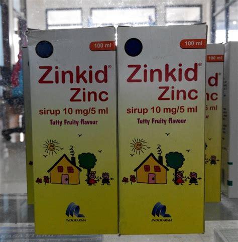 jual zinkid zinc obat diare bayi idun s corner