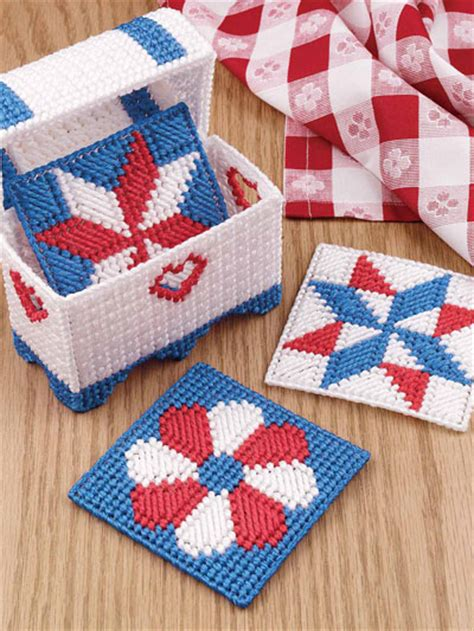 Quilted Coaster Pattern by Patriotic Quilt Coasters