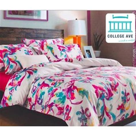 pink twin xl comforter designer pink and blue artistry college from dormco cute