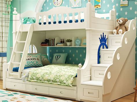 bunk bed for children louis fashion solid wood bunk bed for children in