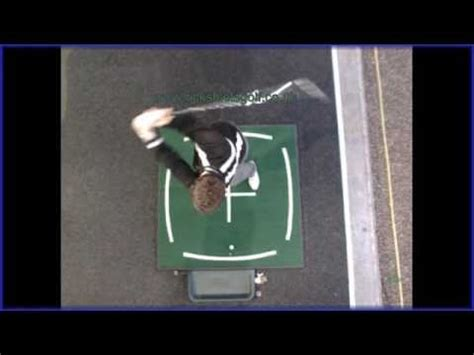 golf swing top view golf swing from above with rick shiels pga golf coach