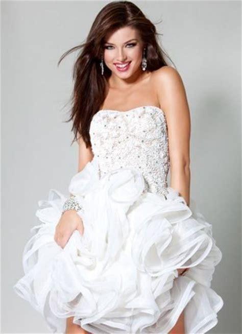 imagenes de vestidos de novia que no sean blancos 32 vestidos de novia cortos y fabulosos para tu boda