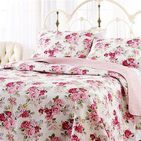 lidia cotton quilt set print