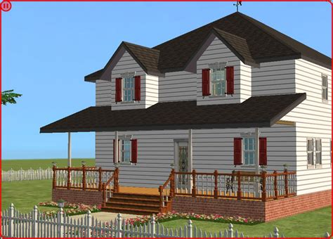 american farm house mod the sims american farmhouse 3bed 1 5bath