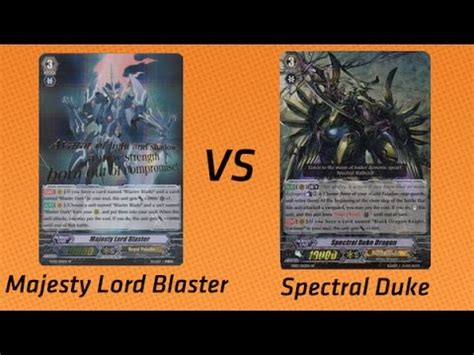 Cardfight Vanguard Spectral Blaster cardfight deck build spectral duke part 1 doovi
