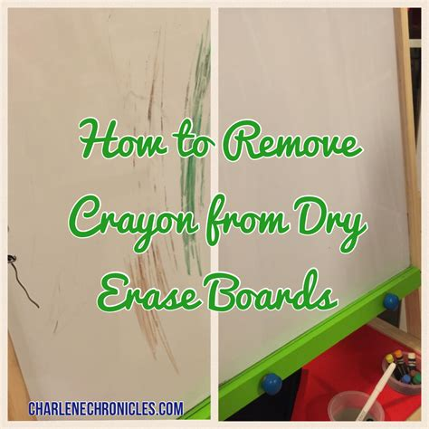 Remove Crayon From by How To Remove Crayon From A Erase Board Charlene