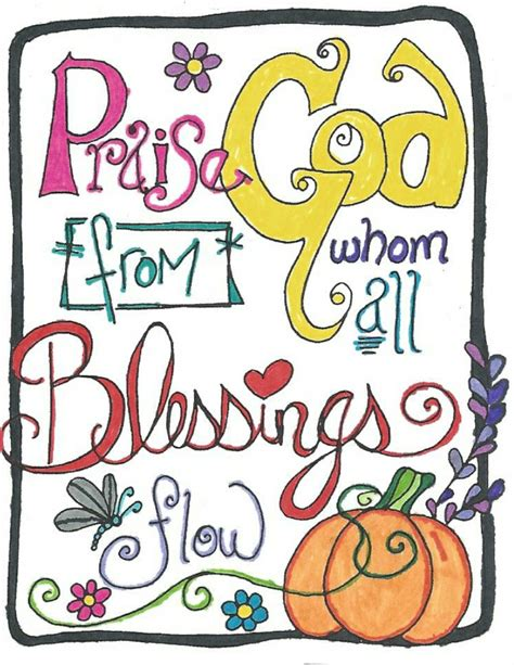 doodlebug blessings thanksgiving blessing doodle drawings doodles