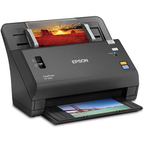 image scanner epson fastfoto ff 640 high speed photo scanning system