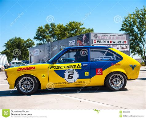 opel race car opel kadett race car editorial image image of