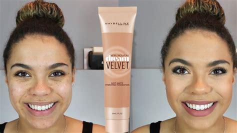 Maybelline Velvet Foundation maybelline velvet foundation review demo