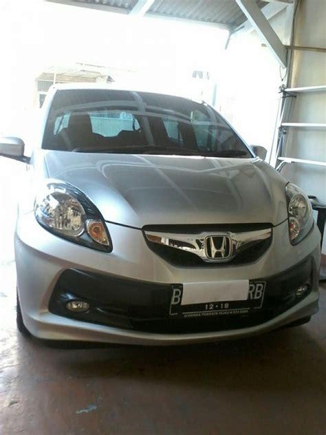 Alarm Mobil Honda Brio honda brio satya tipe e manual silver tahun 2013 bulan