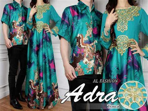 Baju Muslim Batik Model Terbaru Murah Dress Batik Elegan Grosir 1 model baju batik motif modern dress terbaru