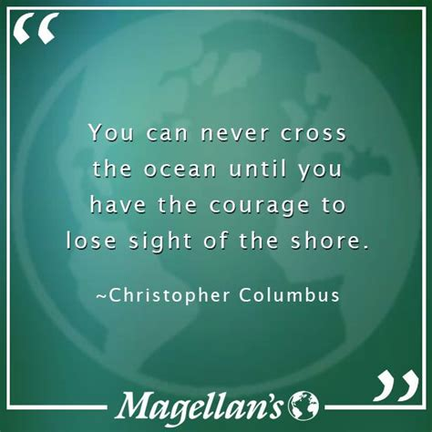 christopher columbus travel sayings quotes travel