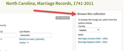 County Nc Marriage Records St George Familysearch Library Website Genealogynow