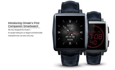 Smartwatch Omate X omate x el pr 243 ximo smartwatch con acabado premium aunque android wear el androide libre