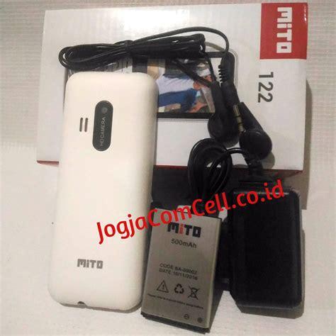 Mito 122 Dual Sim by Mito 122 Handphone Dual Sim Murah Berkualitas Mirip Nokia 220