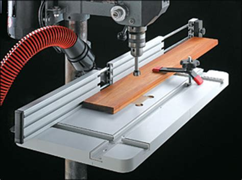 Bernand Information Drill Press Table Fence Plans