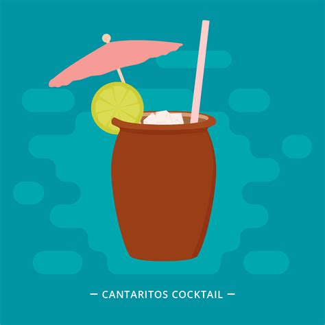 cocktail vector cantaritos cocktail vector illustration download free
