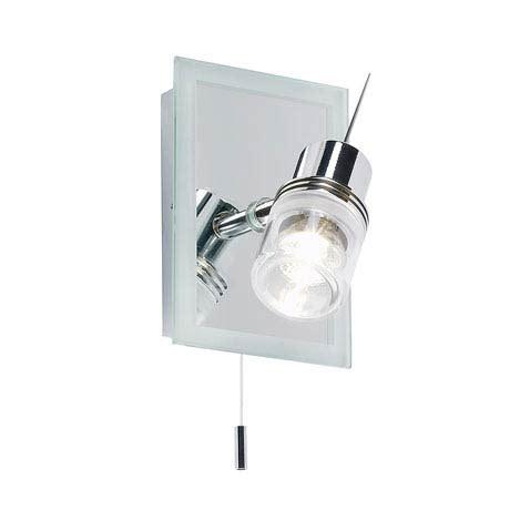 Spotlight Bathroom Accessories Endon Delta Mirror Backed Single Spotlight Light Fitting Chrome El 171 At
