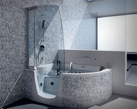 Corner Bathtub Shower Combo Small Bathroom Small Corner Bathtub Shower Combo Decor Ideasdecor Ideas