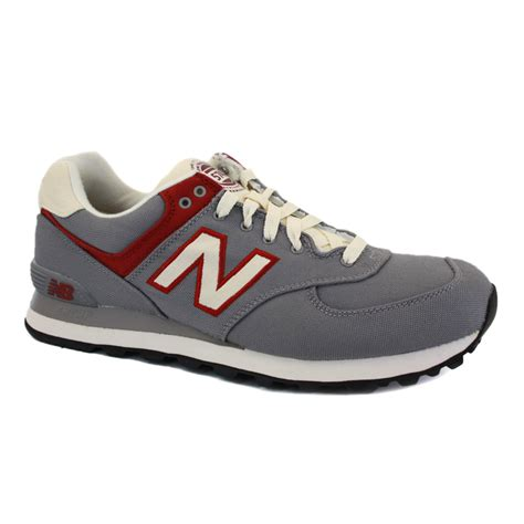 new balance mens sneakers new balance rugby 574 ml574rub mens laced textile sneakers