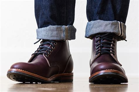 mens trench boots oak bootmakers color 8 trench boot por homme