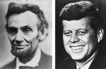 abe lincoln and jfk abraham lincoln and f kennedy