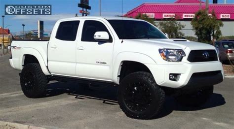 Leveling Kit For Toyota Tacoma Wheel Offset 2015 Toyota Tacoma Slightly Aggressive