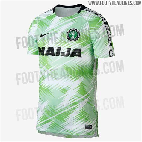 nigeria world cup 2018 spectacular nike nigeria 2018 world cup pre match shirt