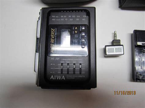 aiwa radio cassette recorder vintage aiwa hs j101 stereo radio cassette recorder