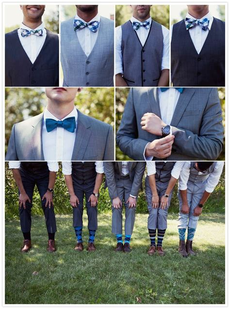 these groomsmen serious style from the vests to the