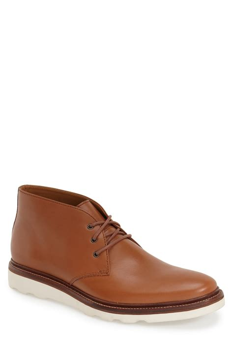 coach boots mens coach bedford chukka boot in brown for lyst