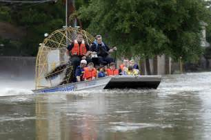 boat show houston today officials watching high risk dams after houston storms