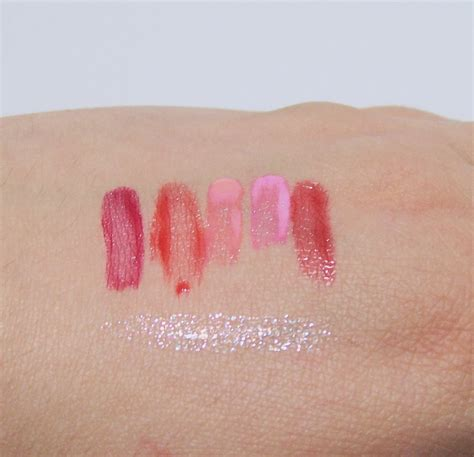 The Skin Food Water Color Tint coral lipstick birthday haul etude house nail