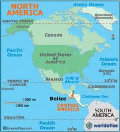 belize map geography of belize map of belize