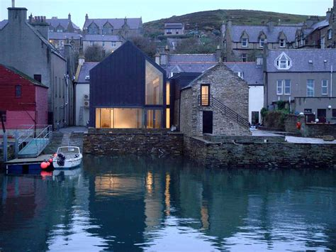 Pool House Design stromness primary school orkney education building e