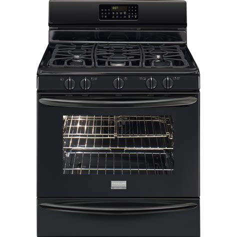 Termometer Oven Gas frigidaire fggf3054mb gallery 5 0 cu ft freestanding gas range w effortless temperature
