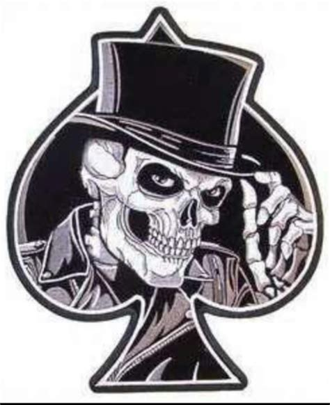 skull spade tattoo designs 116 best images about ace of spades on pill