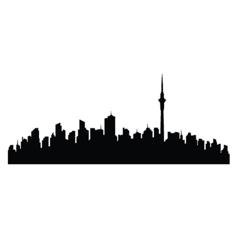 Auckland Skyline Outline by Auckland Skyline Wall Quotes Wall Decal Wallquotes