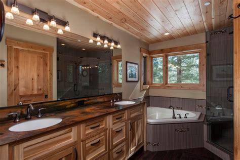 Rustic Bathroom Countertops by 18 Bathroom Countertop Designs Ideas Design Trends
