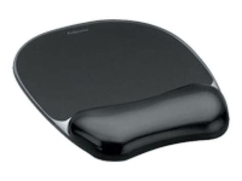 Gel Wrist Rest Mouse Pad Black 207tf7 fellowes gel mouse pad wrist rest black ebuyer