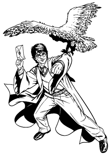 detailed harry potter coloring pages coloring page harry potter coloring pages 8