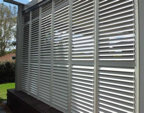 Used Porch Awnings Exterior Plantation Shutter Rialto Shutters Sydney