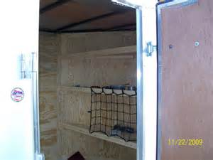 Enclosed Storage Shelves Enclosed Trailer Shelving