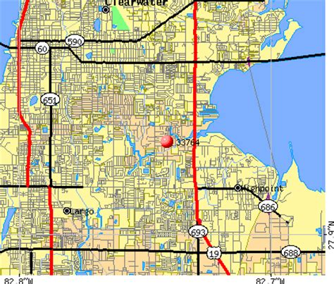 zip code map clearwater fl 33764 zip code clearwater florida profile homes