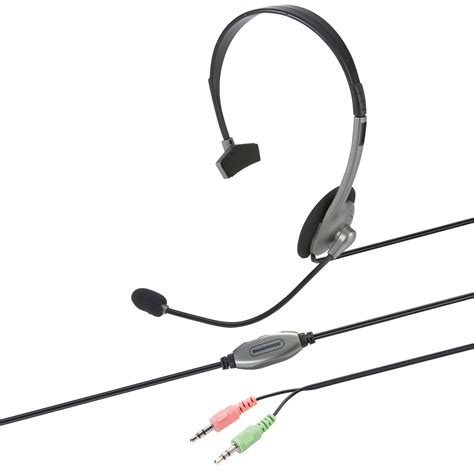 Headset Voip bhs510 bandridge voip headset 1 8 m electronic