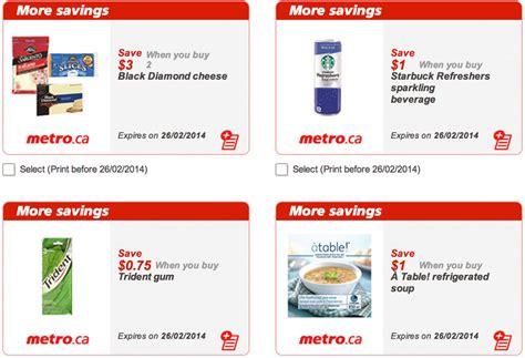printable grocery coupons quebec metro quebec printable grocery coupons valid till feb 26