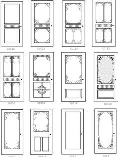 door template card paper craft ideas on collage sheet templates