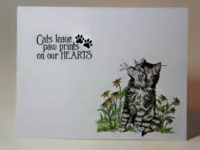 pet sympathy cat sympathy sympathy card handmade sympathy