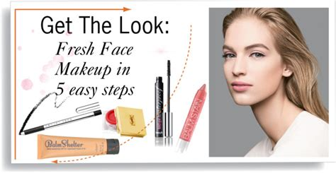 Get Livelys Fresh Faced Look by Get The Look Fresh Makeup Regard Magazine